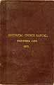 Thumbnail image of Poquonock Congregational Church 1873 Manual cover