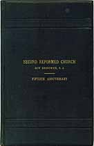 Thumbnail image of Second Reformed Church 50th Anniversary cover