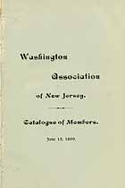 Thumbnail image of Washington Association of NJ 1899 Members cover
