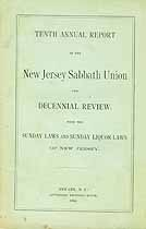Thumbnail image of New Jersey Sabbath Union 1884 Report cover