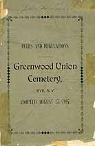 Thumbnail image of Greenwood Union Cemetery Plot Owners cover