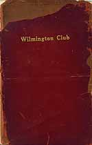 Thumbnail image of Wilmington Club 1914 Membership cover