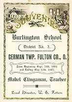 Thumbnail image of Burlington School 1904/05 Souvenir cover