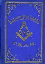 Thumbnail image of Lamberton Lodge, F. & A. M. 1902 By-Laws cover