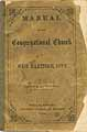 Thumbnail image of West Hartford Congregational Church 1866 Manual cover