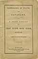 Thumbnail image of Boston Union Church 1852 Manual cover