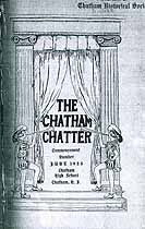 Thumbnail image of The Chatham Chatter June 1925 cover
