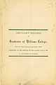 Thumbnail image of Williams College 1882 Obituary Record cover