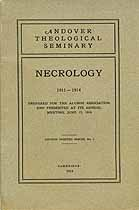 Thumbnail image of Andover Theological Seminary 1911-14 Necrology cover