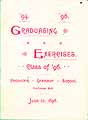 Thumbnail image of Penacook Grammar School '96 Graduating Exercises cover