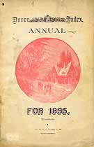 Thumbnail image of Dover Annual 1895 Index cover