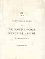 Thumbnail image of Francis E. Parker Memorial Home 1911 Report cover