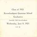 Thumbnail image of Kennebunkport Grammar School 1921 Graduation cover
