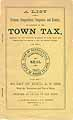 Thumbnail image of Burrillville 1888 Town Tax cover