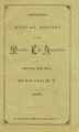 Thumbnail image of Masonic Life Association 1888 Report cover
