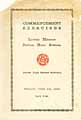 Thumbnail image of Lower Merion Sr. High School 1930 Commencement cover