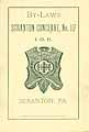 Thumbnail image of IOH Scranton Conclave 1891 Roster cover