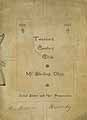Thumbnail image of Mt. Sterling Twentieth Century Club 1902-1903 Year Book cover