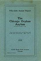 Thumbnail image of Chicago Orphan Asylum 1908 Report cover