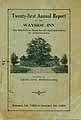 Thumbnail image of Odd Fellows Wayside Inn 1923-24 Report cover