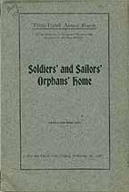 Thumbnail image of Ohio Soldiers' and Sailors' Orphans' Home 1907 Report cover