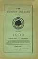 Thumbnail image of Oakham 1909 Valuation and Taxes cover