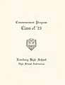 Thumbnail image of Roseburg High School 1923 Commencement cover