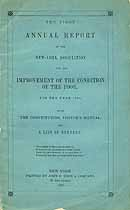 Thumbnail image of New York Poor Improvement Association 1845 Report cover