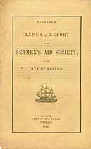 Thumbnail image of Boston Seamen's Aid Society 1844 Report cover