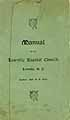 Thumbnail image of Lowville Baptist Church 1898 Manual cover