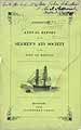 Thumbnail image of Boston Seamen's Aid Society 1848 Report cover