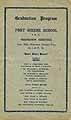 Thumbnail image of Fort Greene School 1922 Graduation Program cover