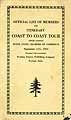 Thumbnail image of 1923 Coast to Coast Sightseeing Tour cover