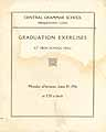 Thumbnail image of Central Grammar School 1916 Graduation cover