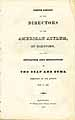 Thumbnail image of American Asylum at Hartford 1826 Report cover