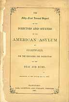 Thumbnail image of American Asylum at Hartford 1867 Report cover