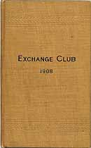 Thumbnail image of Exchange Club 1908 By-Laws cover