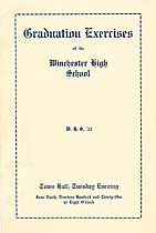 Thumbnail image of Winchester High School 1931 Graduation cover