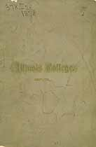 Thumbnail image of Illinois College 1877-78 Catalogue cover