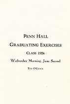 Thumbnail image of Penn Hall Girls' School 1926 Graduation cover