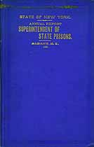 Thumbnail image of New York State Prison 1886 Report cover
