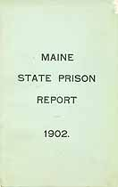 Thumbnail image of Maine State Prison 1902 Report cover