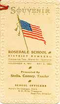 Thumbnail image of Rosedale School 1901-2 Souvenir cover