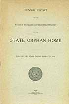 Thumbnail image of Texas State Orphan Home 1917/18 Report cover