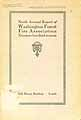 Thumbnail image of Washington Forest Fire Association 1916 Report cover