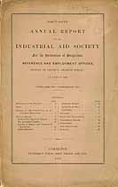 Thumbnail image of Industrial Aid Society 1880 Report cover