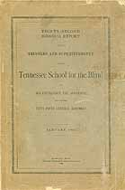 Thumbnail image of Tennessee School for the Blind 1907 Report cover