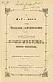 Thumbnail image of Westtown Boarding School 1873 Catalogue cover