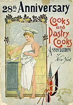 Thumbnail image of New York Cooks and Pastry Cooks Association 1908 Ball cover
