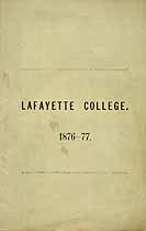 Thumbnail image of Lafayette College 1876-77 Catalogue cover